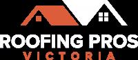 roofing pros victoria logo - white